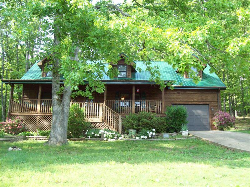Home on 6.8 Acres Near Piedmont MO : Piedmont : Wayne County : Missouri