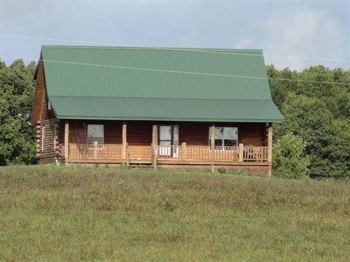 Beautiful Log Home in Salem MO : Salem : Dent County : Missouri