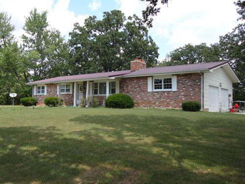 Attractive Ranch 18.3 Acres Salem : Salem : Dent County : Missouri