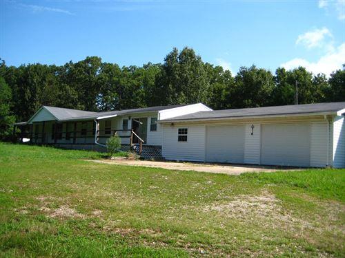 Country Home, Stover Mo, 5 Acres : Stover : Morgan County : Missouri