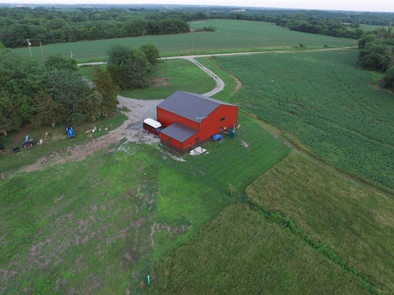 Nw Mo 40 Acres And Shouse For Sale : Weatherby : Dekalb County : Missouri