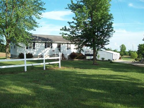 Country Home 3 Br, 2 BA Wellsville : Wellsville : Montgomery County : Missouri