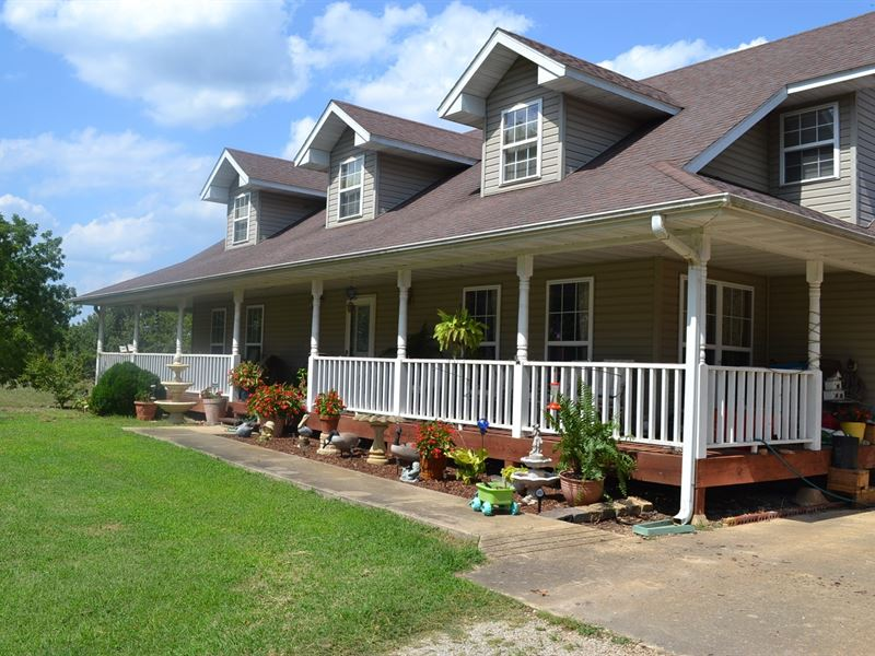 Country Home, Land, Howell County : West Plains : Howell County : Missouri