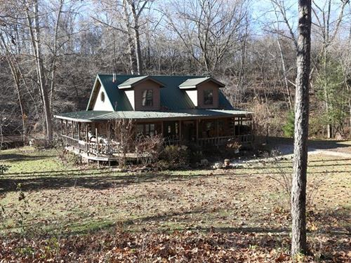 Log Homes Ozarks North Fork White : West Plains : Douglas County : Missouri