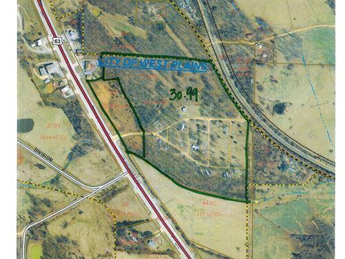 Mobile Home Park on 34.99 Acres : West Plains : Howell County : Missouri