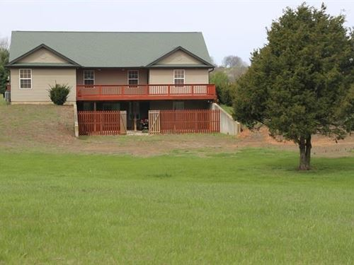 Home in Missouri Ozarks on 3 Acres : West Plains : Howell County : Missouri