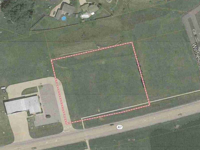 1.8 AC M/L Commercial Land : Winfield : Lincoln County : Missouri