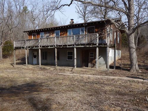 Southern Missouri Fixer-Upper Cabin : Winona : Oregon County : Missouri