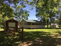 Secluded 48 Acres Hobby Farm Oregon : Winona : Oregon County : Missouri