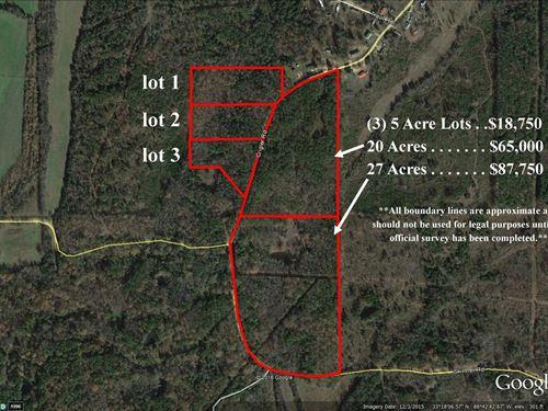 27 Acres In Okitbbeha County : Starkville : Oktibbeha County : Mississippi