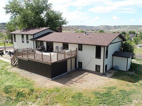 Million Dollar View, Home 3+ Acres : Glendive : Dawson County : Montana