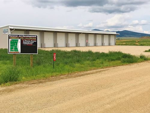 Lewistown MT Commercial Land Lot : Lewistown : Fergus County : Montana