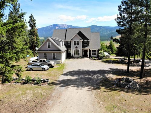Country Home With Acreage : Plains : Sanders County : Montana