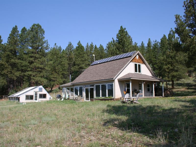 Off Grid Solar Home Great Location : Cebolla : Rio Arriba County : New Mexico
