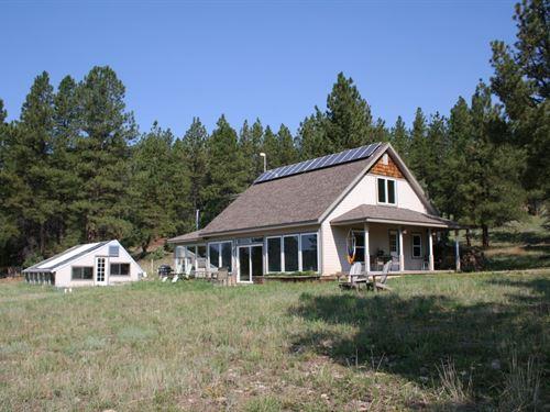 Off Grid Solar Home Great Location : Cebolla : Rio Arriba County : New Mexico