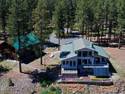 Custom Home Guest House Acreage : Chama : Rio Arriba County : New Mexico