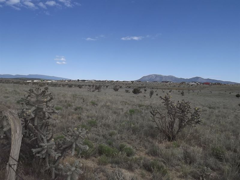 6.73 Acres Heart Edgewood New : Edgewood : Santa Fe County : New Mexico