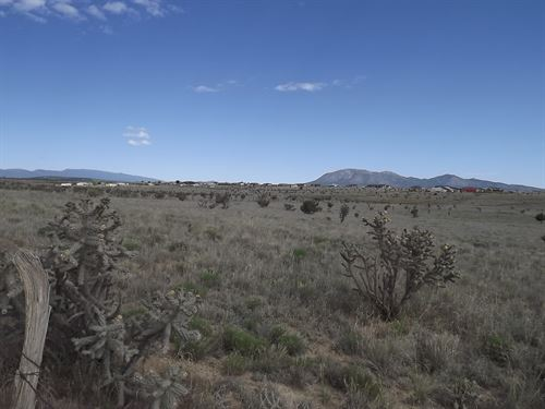 6.73 Acres Heart Edgewood New : Edgewood : Santa Fe County : New Mexico