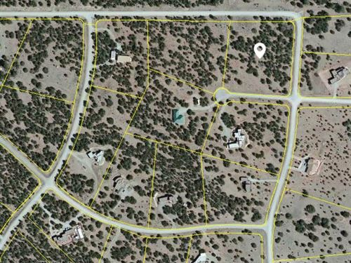 4 Acre Residential Building Lot : Edgewood : Santa Fe County : New Mexico