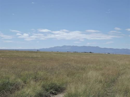 New Mexico 1696 Acres Grassland : Estancia : Torrance County : New Mexico