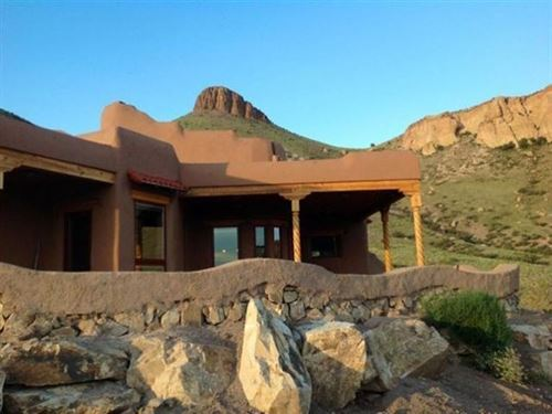 Energy Efficient Adobe Compound : Hillsboro : Sierra County : New Mexico