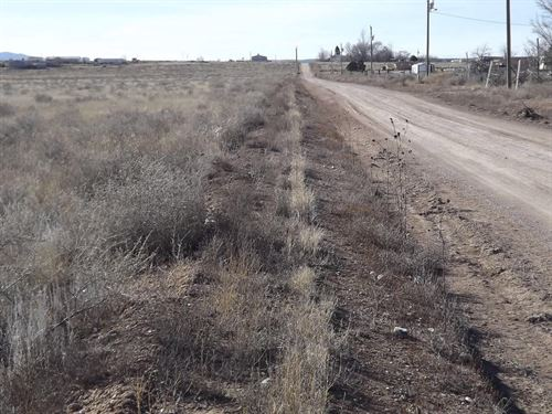 Residential Building Lots Moriarty : Moriarty : Torrance County : New Mexico