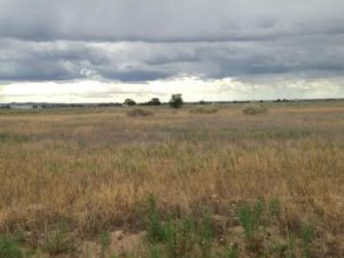Central NM Vacant Residential Lot : Moriarty : Torrance County : New Mexico