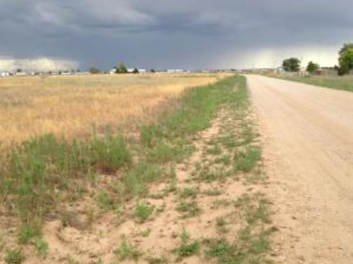 Manufactured Home Building Lot : Moriarty : Torrance County : New Mexico