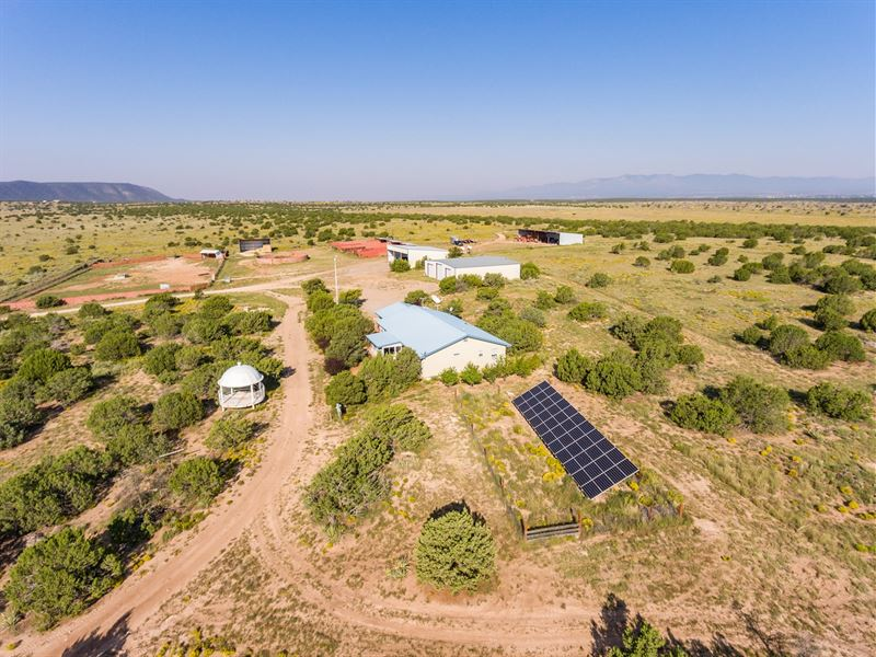 Central NM Horse Property 1,040 Ac : Mountainair : Torrance County : New Mexico
