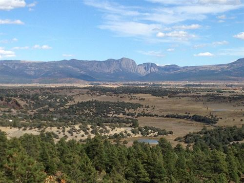 Lot Northern NM Mountain Views : Rutheron : Rio Arriba County : New Mexico
