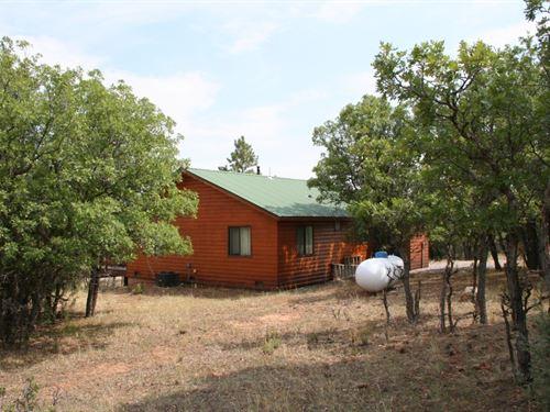 Cabin Heron Lkae, Views Brazos : Rutheron : Rio Arriba County : New Mexico