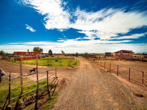 Southern NM Horse Property : Tularosa : Otero County : New Mexico