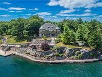 Luxurious Home 85 Acres St : Alexandria Bay : Jefferson County : New York