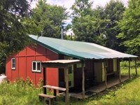 67 Acres Land, Cabin Chenango : Columbus : Chenango County : New York