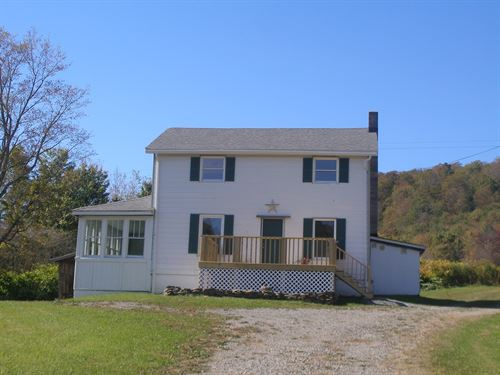 5 Acre Farmhouse Million Dollar : Deposit : Broome County : New York