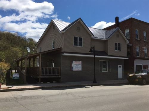 Waterfront Commercial Building : Dolgeville : Herkimer County : New York