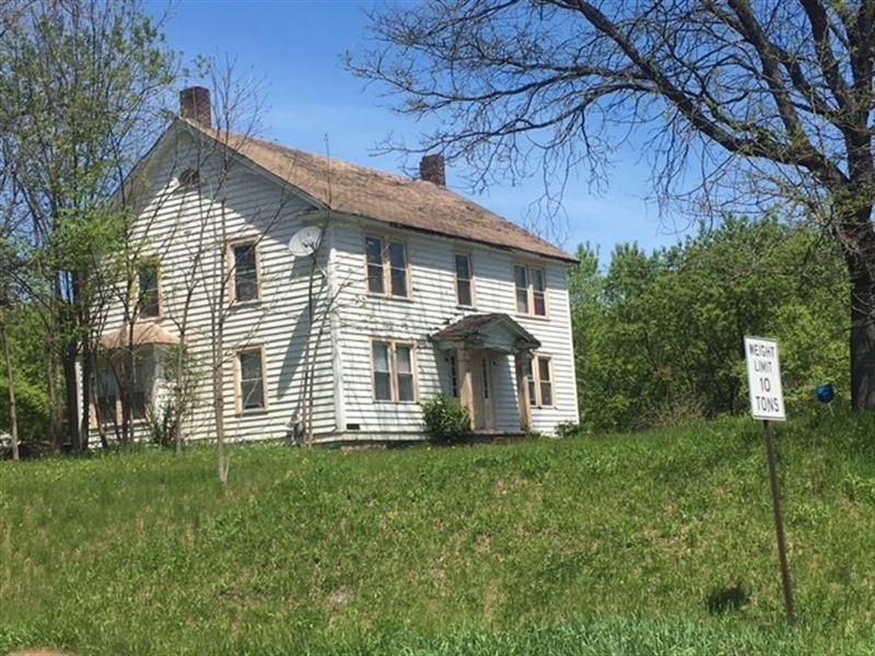 Johnstown NY Farm Lots Road : Johnstown : Fulton County : New York