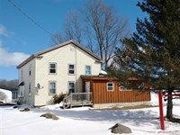 Farmhouse 290 Acres Land Sherburne : Sherburne : Chenango County : New York