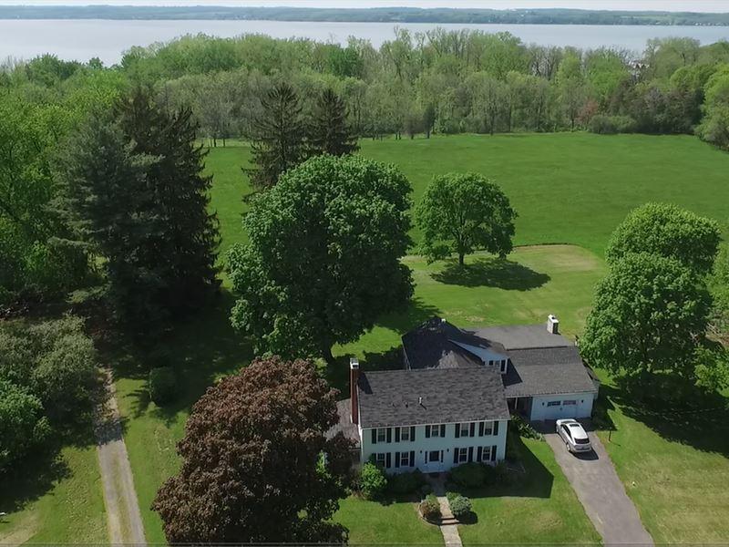 Cayuga Lake Property For Sale : Union Springs : Seneca County : New York