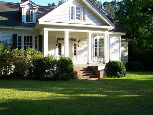 Cedar Tree Plantation Antebellum : Ridgeway : Fairfield County : South Carolina