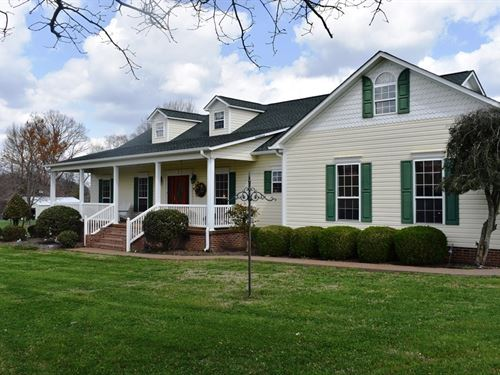 Tennessee Country Home, Big : Atwood : Carroll County : Tennessee