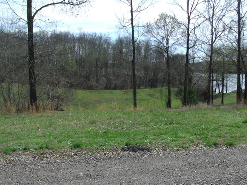 TN River View Building Lot Gated : Bath Springs : Decatur County : Tennessee