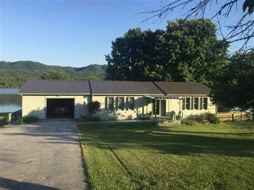 2 Br, 1 Ba Lakefront Home Grainger : Bean Station : Grainger County : Tennessee