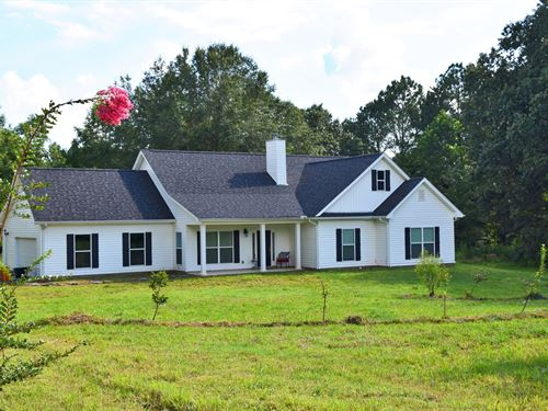 Madison CO TN 4 BR 2.5B Home 30 ac : Beech Bluff : Madison County : Tennessee
