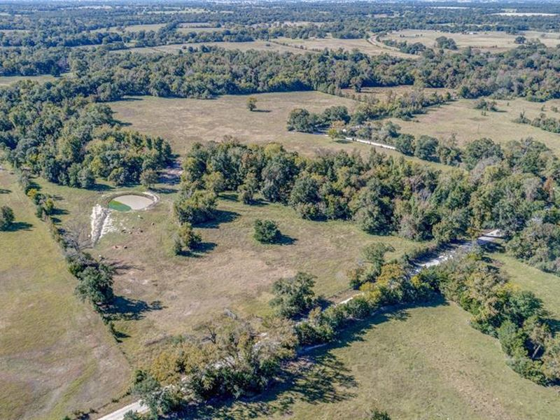 90 Acres Pearson Road : Midway : Madison County : Texas