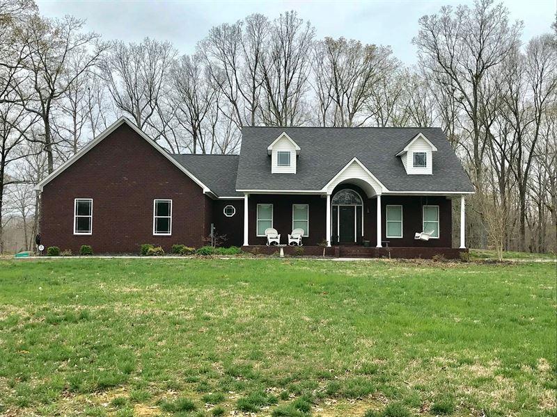 Country Home, Camden Tn, Ky Lake : Camden : Benton County : Tennessee