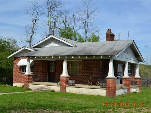 Livestock Farm, 3 BR Home East TN : Harrogate : Hancock County : Tennessee