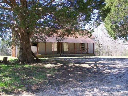 Farm West Tn, With Old Farmhouse : Middleton : Hardeman County : Tennessee