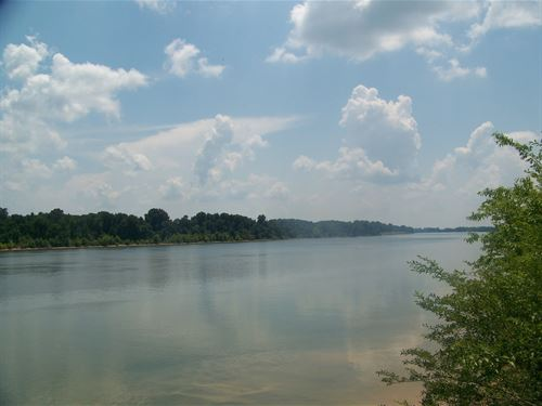 Tennessee River Front Land Hardin : Morris Chapel : Hardin County : Tennessee