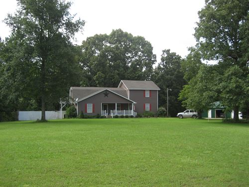 2 Story Country Home McNairy County : Ramer : McNairy County : Tennessee